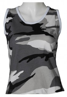 Ladies Army Tank top