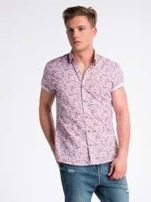 Men's short sleve shirt K474