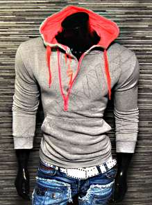 Men hooded Cin