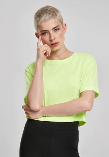 Ladies Short Oversized Neon Tee Lindsay