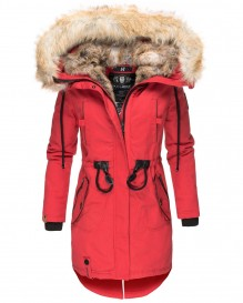 Ladies winter parka Bombii - Red