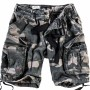Military Airborne Shorts - Black Camo